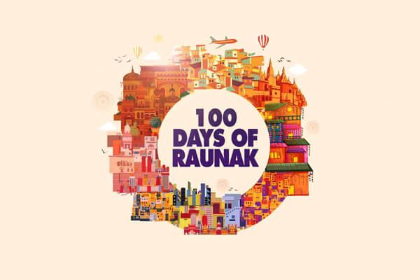 100 Days of Raunak