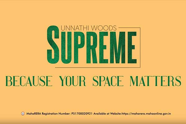 What makes Unnathi Woods Supreme your dream home? | Raunak Group